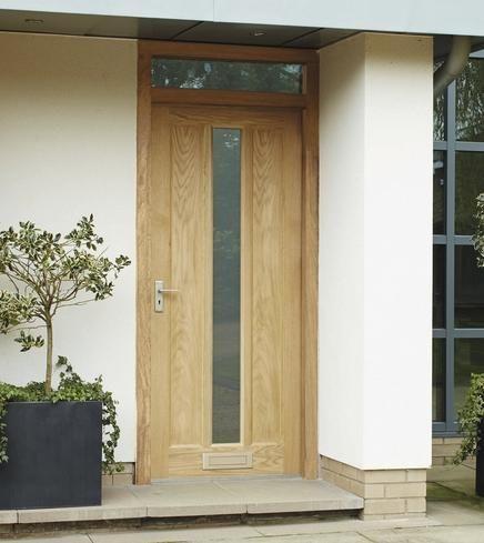 External Worcester Oak Glazed External Hardwood Doors Doors