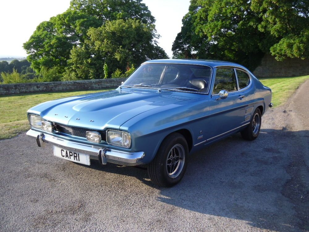 1971 Ford Capri Mk1 3000gt Xlr Excellent Show Car With Images