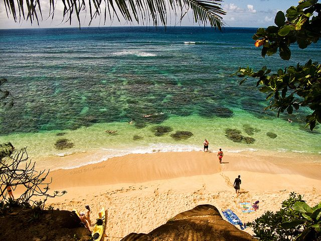 Hideaways Beach Kauai Hawaii Was There Just A Few Days Ago It Has Great Snorkeling Saw Sharks Amazing