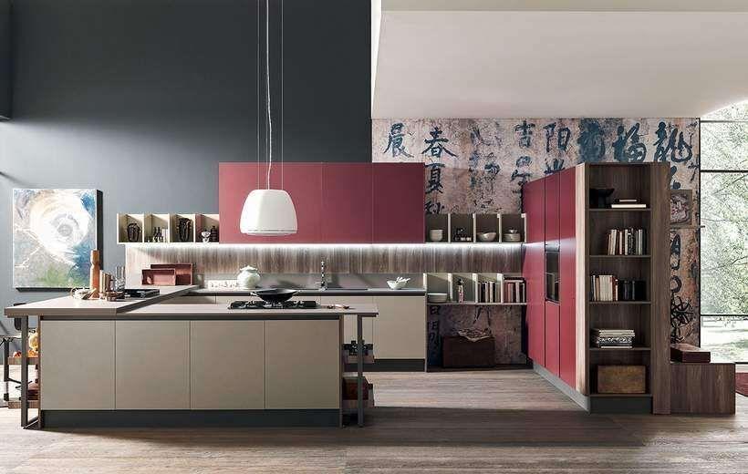 Febal cucine catalogo 2015 - Cucina bicolor Marina Line   Cucina