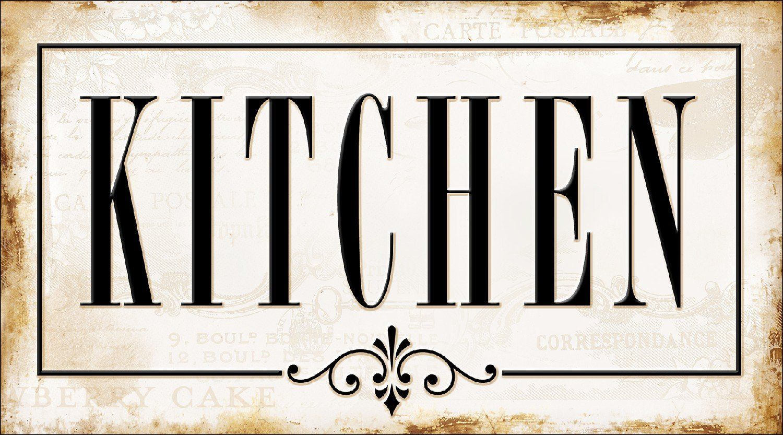 Pro Art Tt045s22 Wandbild Modern Design Ii Kitchen 27 X 15 Cm
