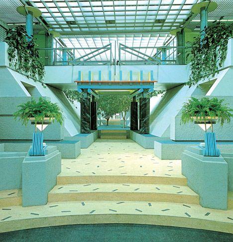 interior design | decoration | postmodern interior, 1980's