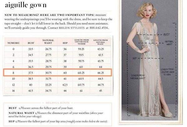 Bhldn Aiguille Gown Size Chart Wedding Day Beauty Bhldn Gowns