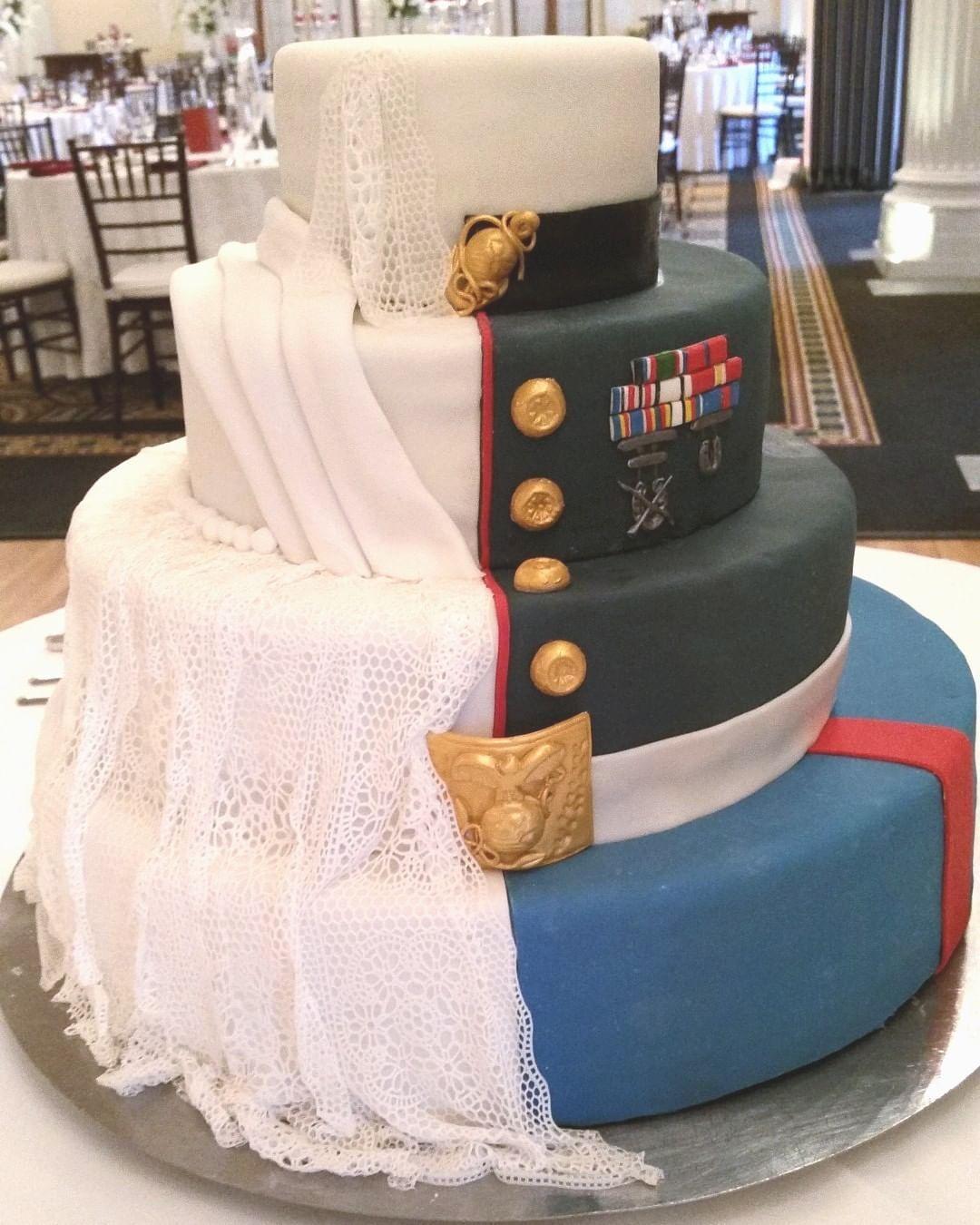 Promotion Cake Military Wedding Military Wedding Cakes Kansas