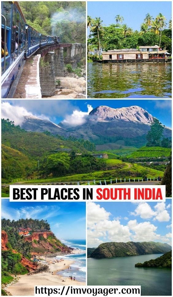 10 Best Places In South India Plan A Perfect Holiday Travel Destinations Asia Asia Travel South India Tourism