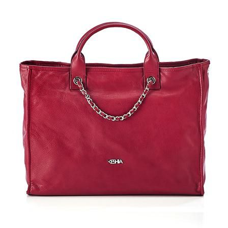 e0ce3ee0f6 Keshia Leather Handbag, Red | Bag It Up! | Leather, Bags, Leather ...