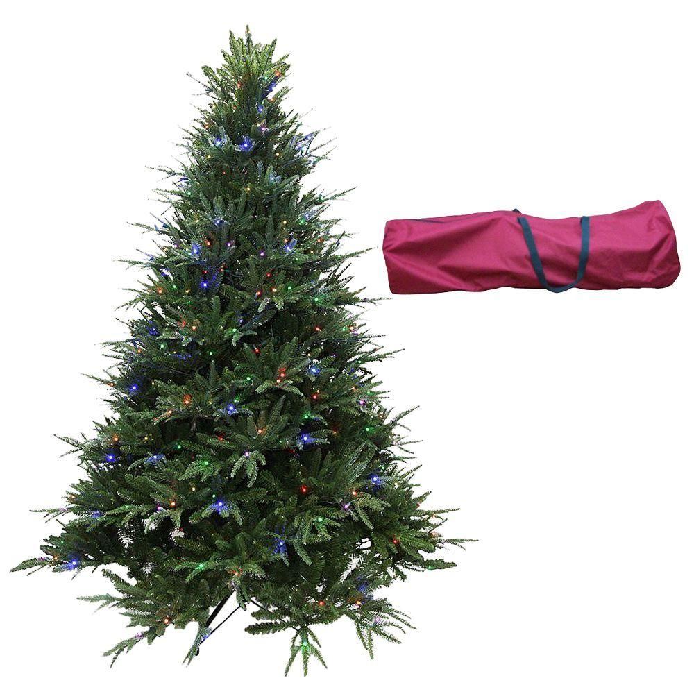 Santaus best ft indoor prelit led splendor spruce artificial