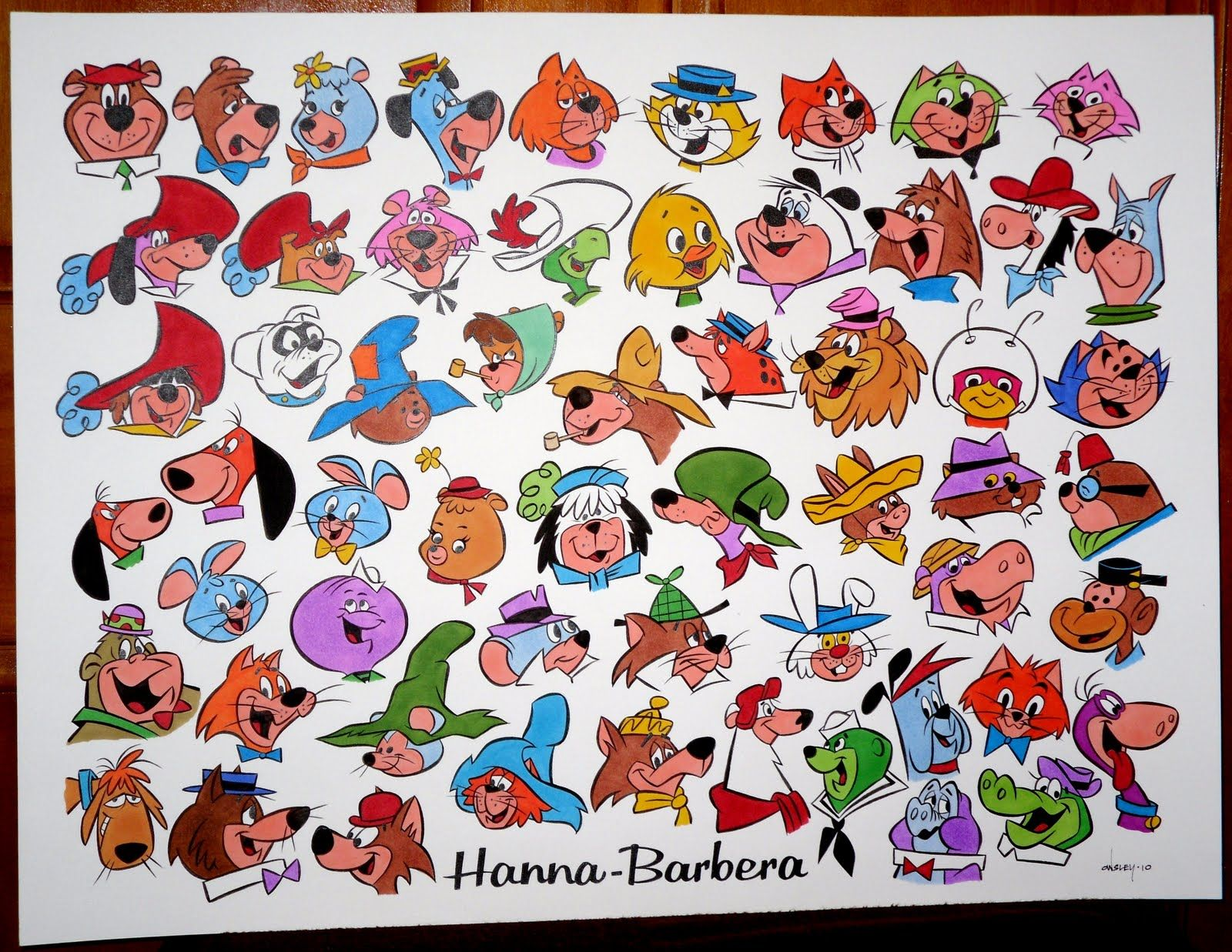 Cartoon Characters 1960s 1970s : Hanna barbera cartoons s clasicos animados de