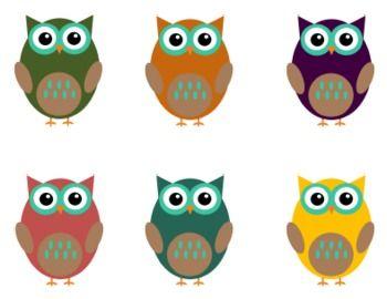 Free Owl Clip Art For Teachers Fall Colors Clipart Teachers Pay