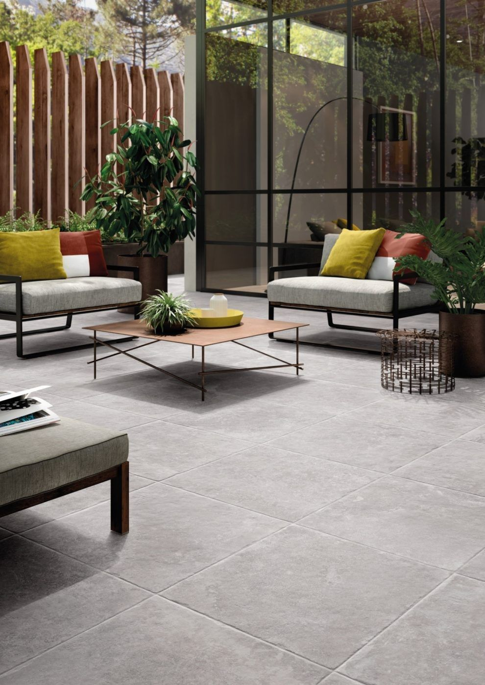 Self Laying Wood Effect Floor Tiles For Outside Floors Icon