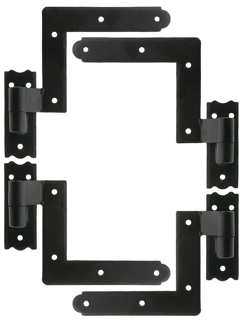 Set Of New York Style Shutter Hinges With 1 1 4 Offset In 2020 Shutter Hinges Shutters Exterior Sliding Shutters