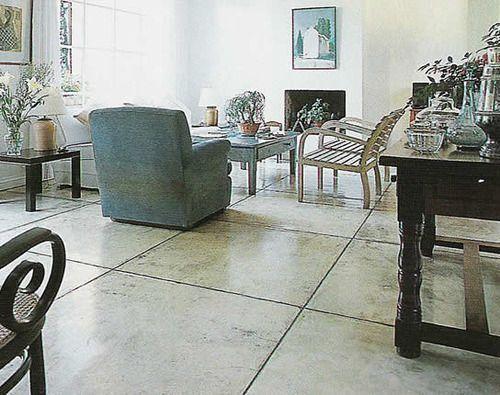Casas modernas con pisos rusticos de cemento buscar con for Piso cemento pulido