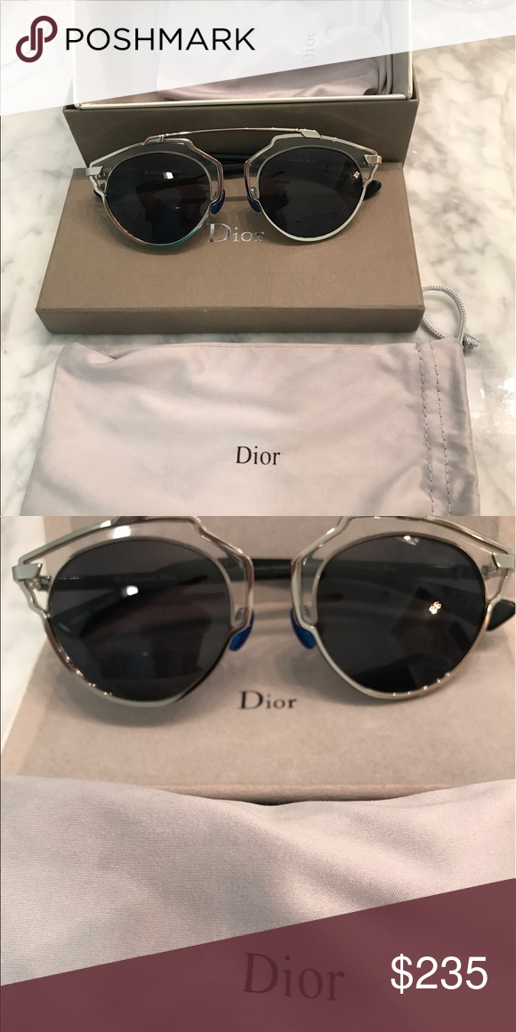 d631d92f8d0a Dior So Real sunglasses 😎 Authentic Dior So Real NIB I wear RX so cannot  use these beauties. Black arms. Dior Accessories Sunglasses