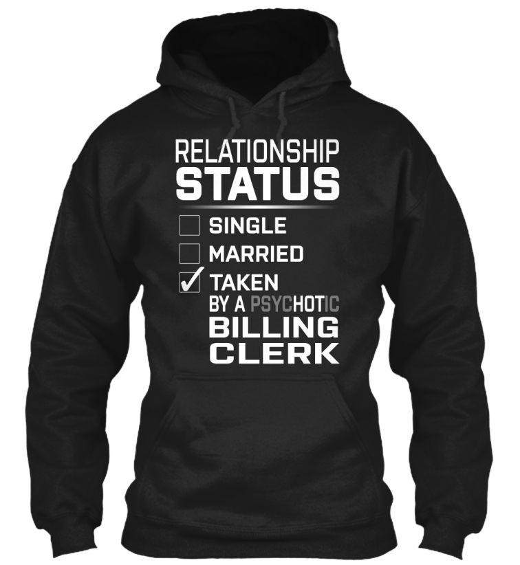 Billing Clerk - PsycHOTic #BillingClerk