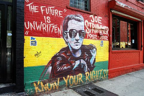 Strummerville, A Charity in Honour of Joe Strummer of The Clash, What's Mellor All About?