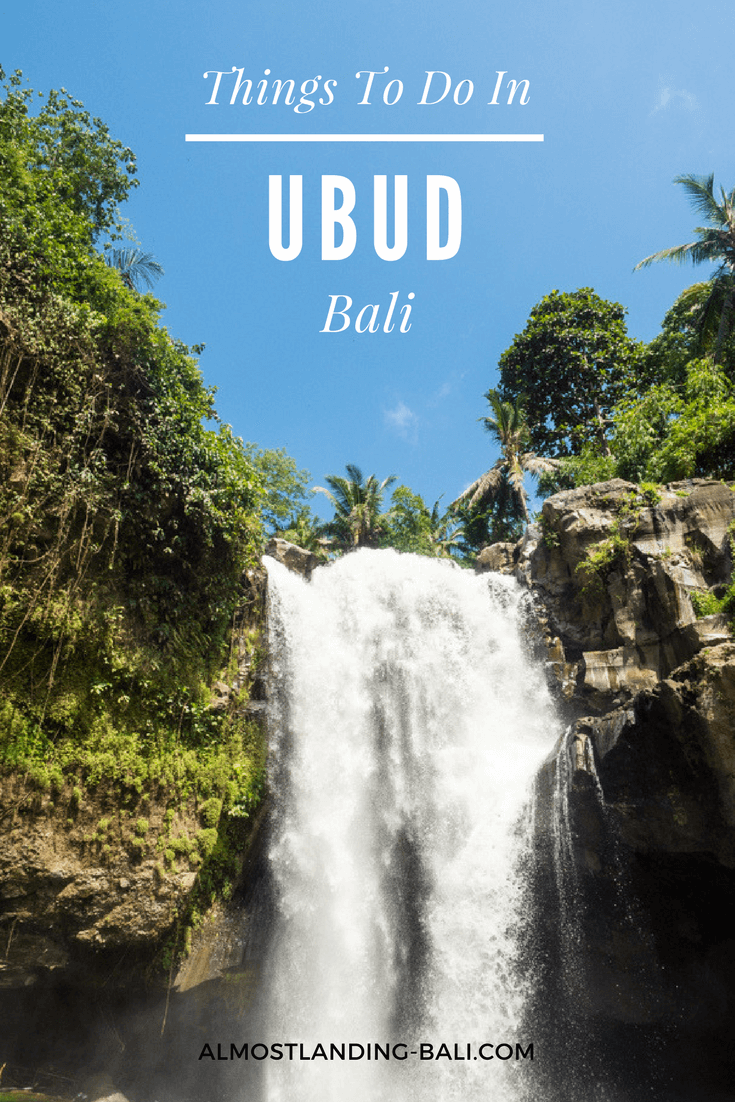 Things to do in Ubud Bali: So many incredible Bali experiences in one place.