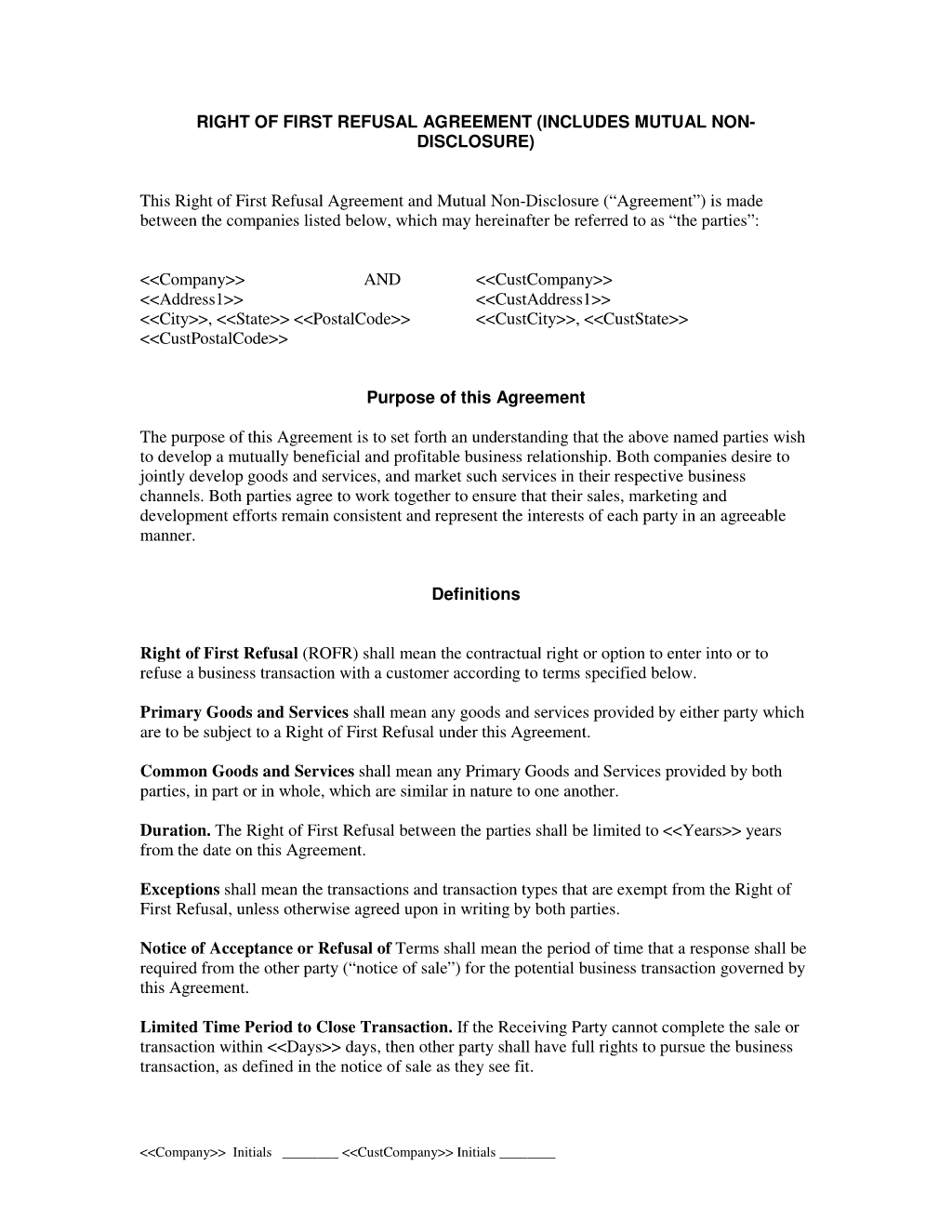 NonDisclosure Agreement Confidentiality Agreement Sample For – Sample Confidentiality Agreement