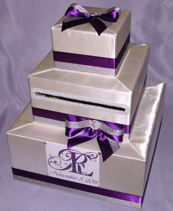 Elegant Custom Made Wedding Card Box Any Design Color Etsy In 2020 Card Box Wedding Wedding Cards Wedding Gift Card Box
