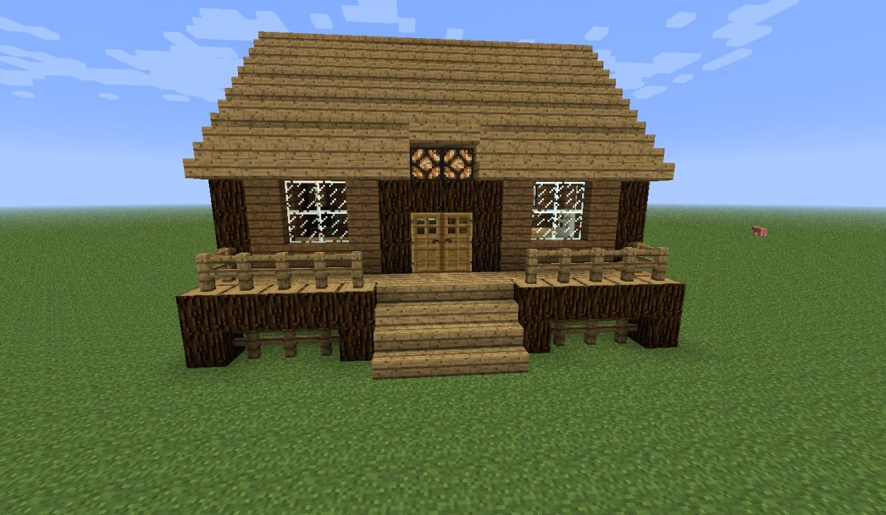 Small Wooden Cabin Minecraft Google Search Cabins