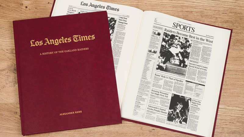 This Oakland Raiders American Football Book is compiled
