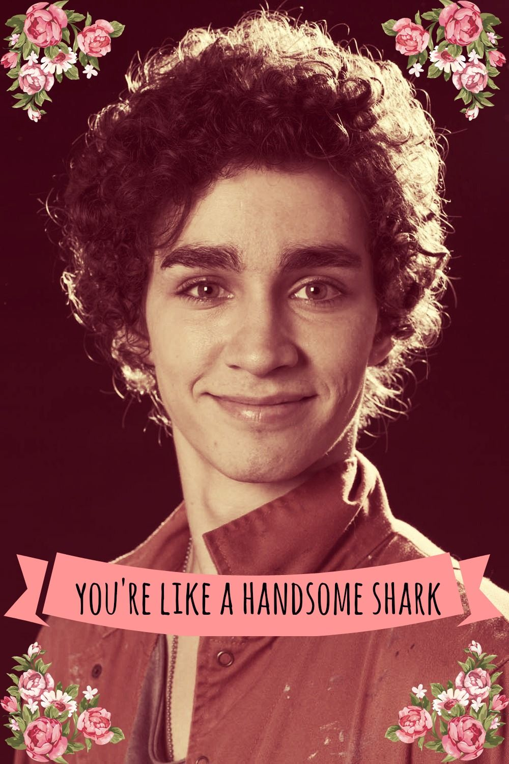Nathan // Misfits // Valentine's Day Card