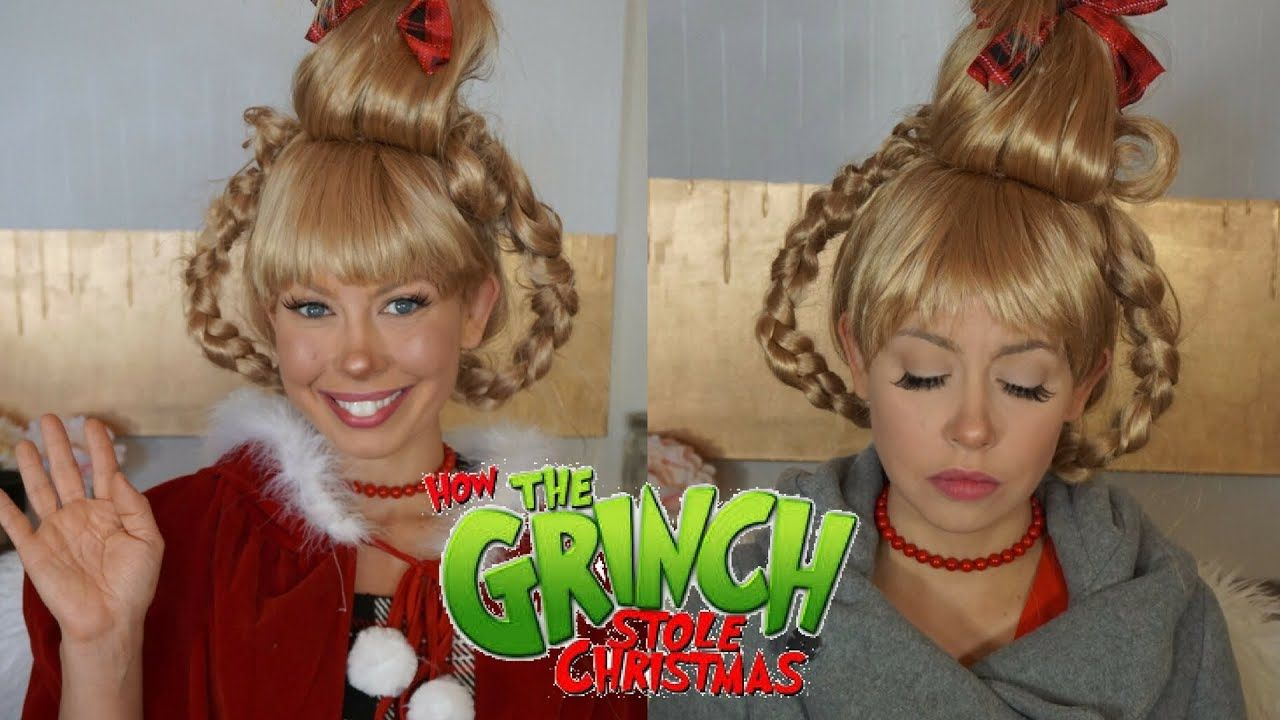 Cindy Lou Who Halloween Makeup