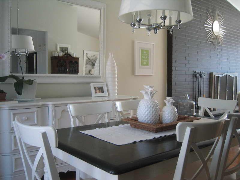 Kitchen Table Centerpiece Ideas Photo Gallery Of The Kitchen