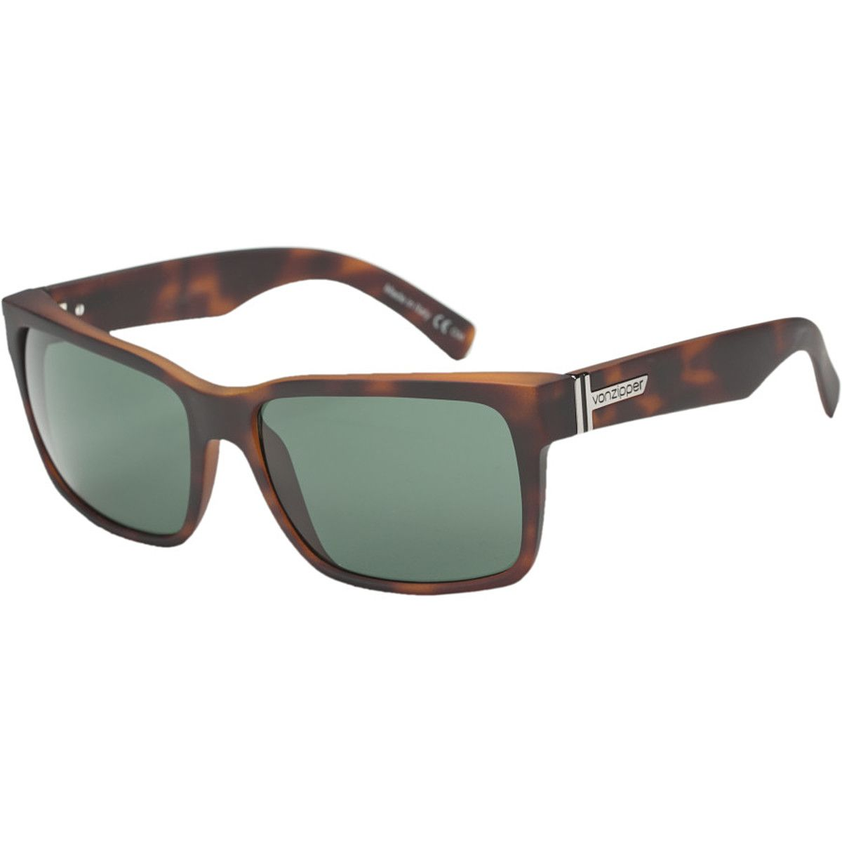 884553abc7 VonZipper Elmore Sunglasses Tort Satin Vintage Grey One Size ...