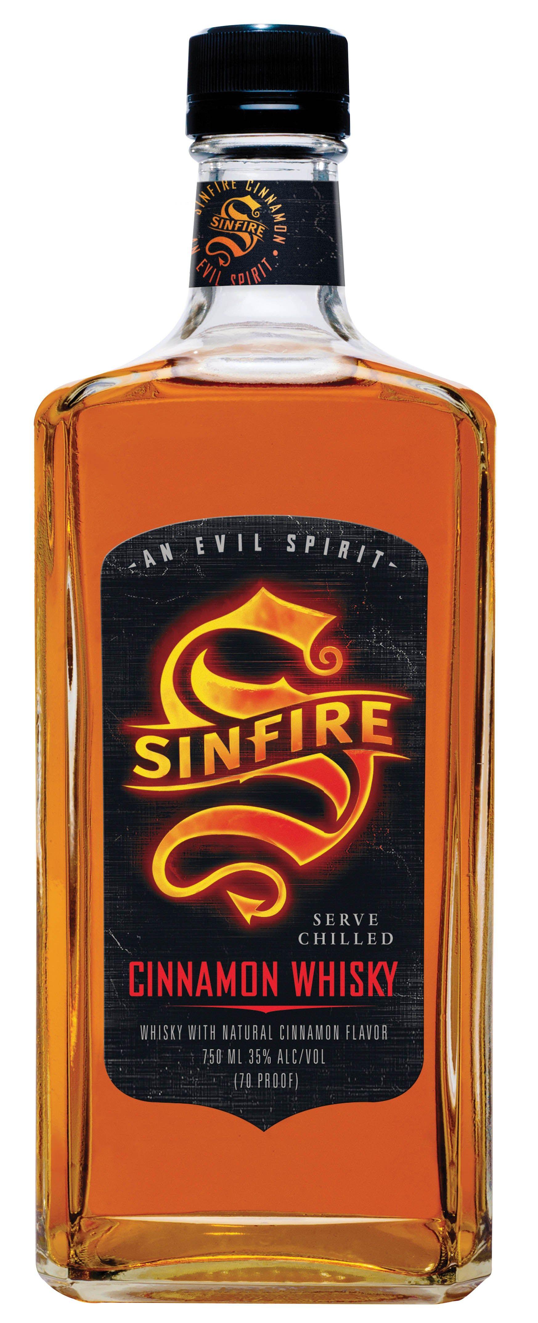 Sinfire Cinnamon Whisky Good