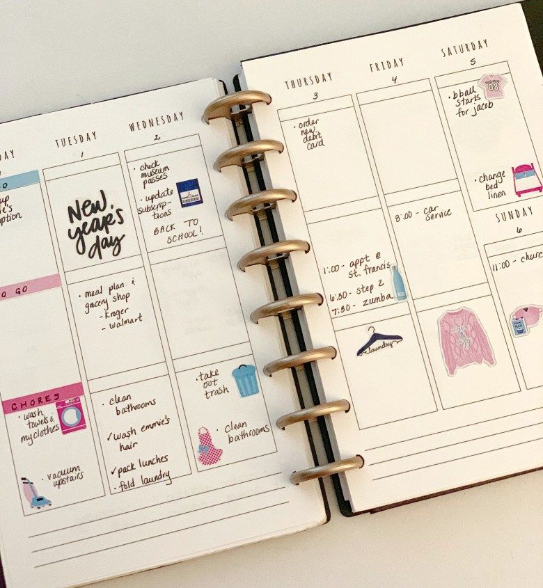 How I Organize My Life Organization Tips for the New