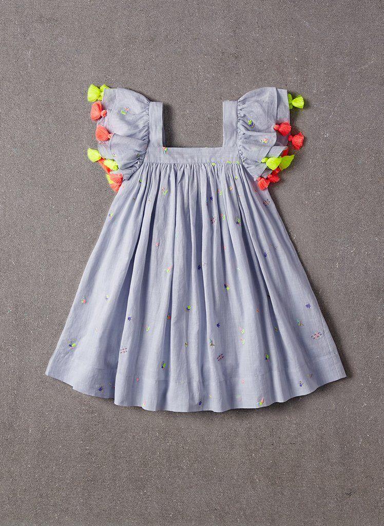d5d7e8ecc543e Nellystella 2018SS - Nellystella Chloe Dress in Scatter Embroidery – The  Girls   Los Altos