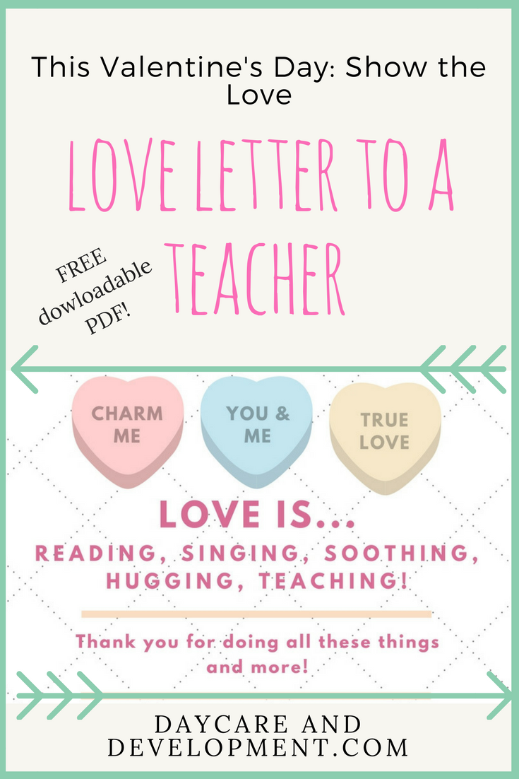 send a teacher a love letter daycare and development letter to teacher love letters lettering send a teacher a love letter daycare