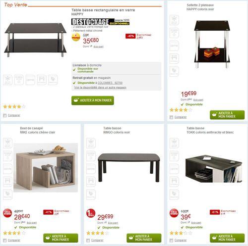 table basse pas cher conforama d couvrez la nouvelle. Black Bedroom Furniture Sets. Home Design Ideas
