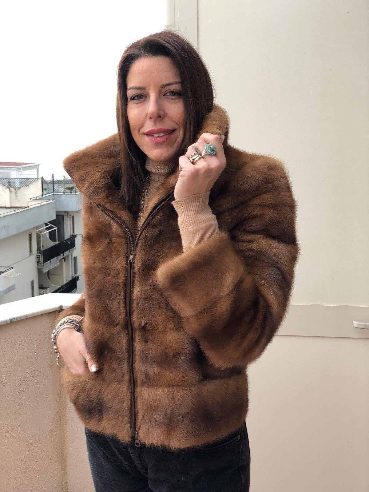 official photos c89cf e7c27 Mink Coat Pelliccia Visone Nerz Pelz Fur Pelzmantel Fuchs ...