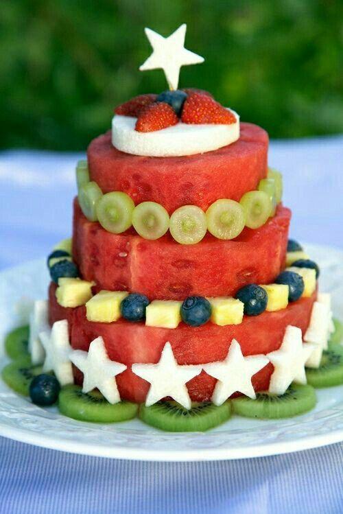 Картинка с днем рождения с арбузом