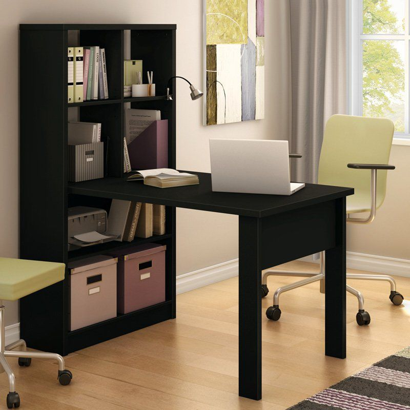South Shore Annexe Collection Work Table With Storage Unit