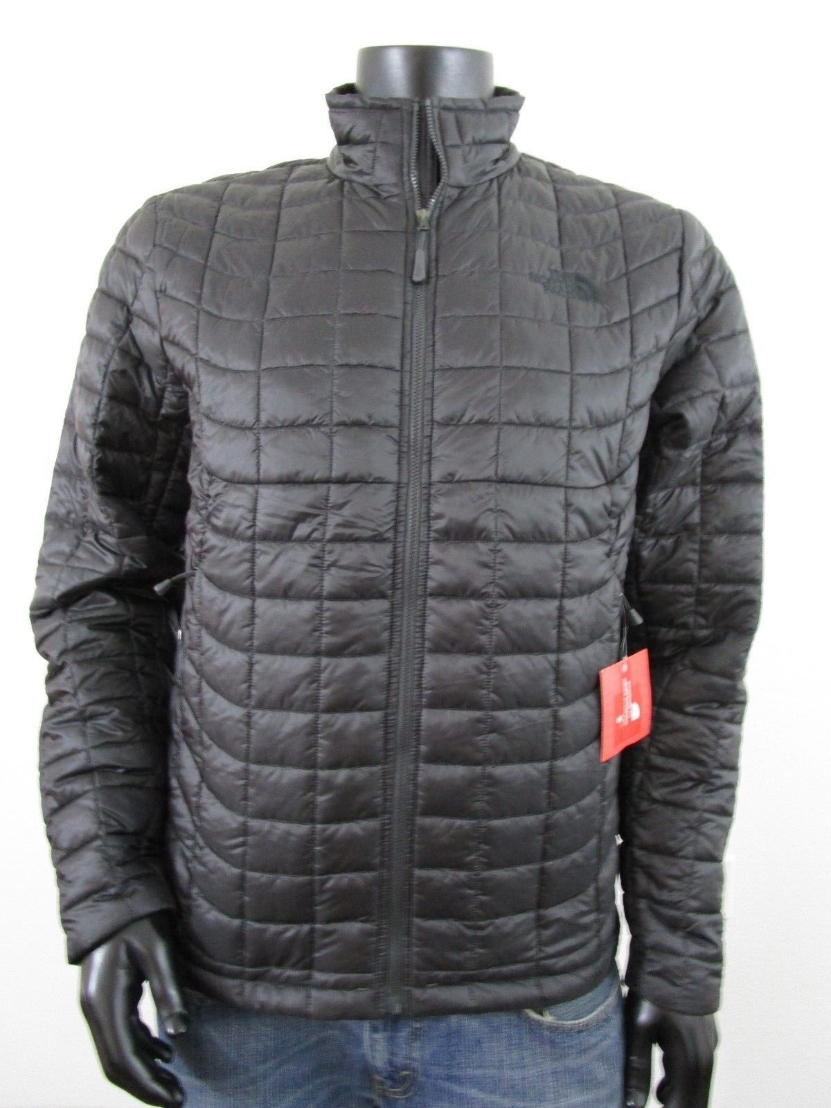 NWT Mens TNF The North Face Thermoball Insulated FZ Puffer Jacket - Asphalt  Grey  127.46 End 93b7eb2f5