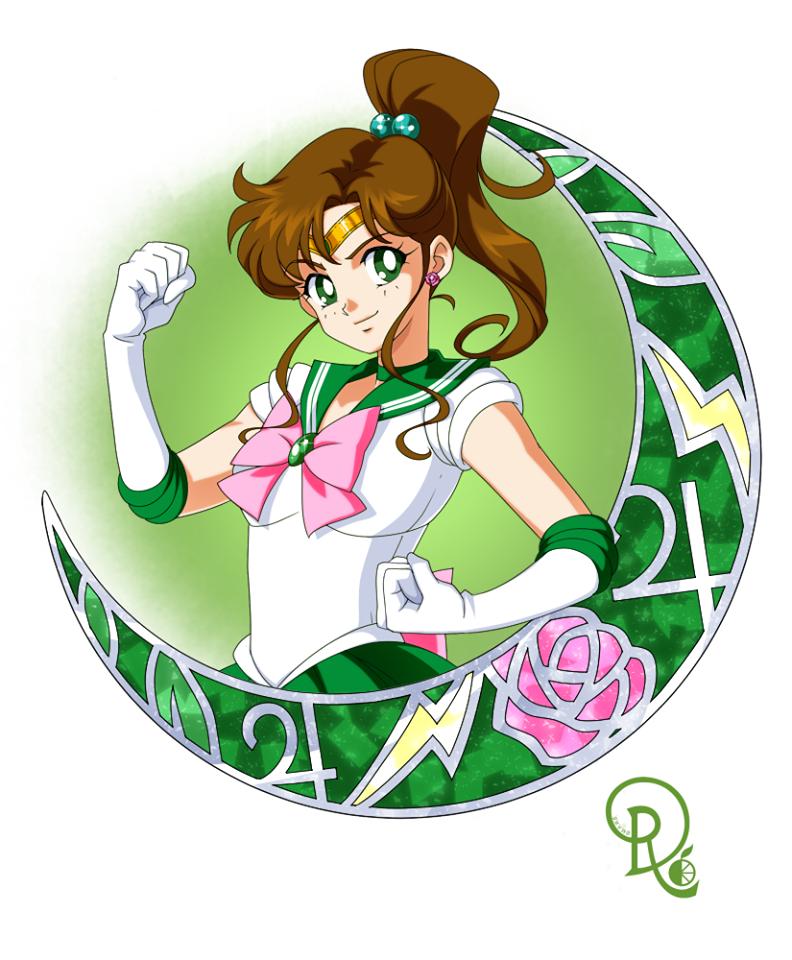 Sailor Jupiter Drachearannak Sailor Jupiter Sailor Moon Manga Sailor Moon Jupiter