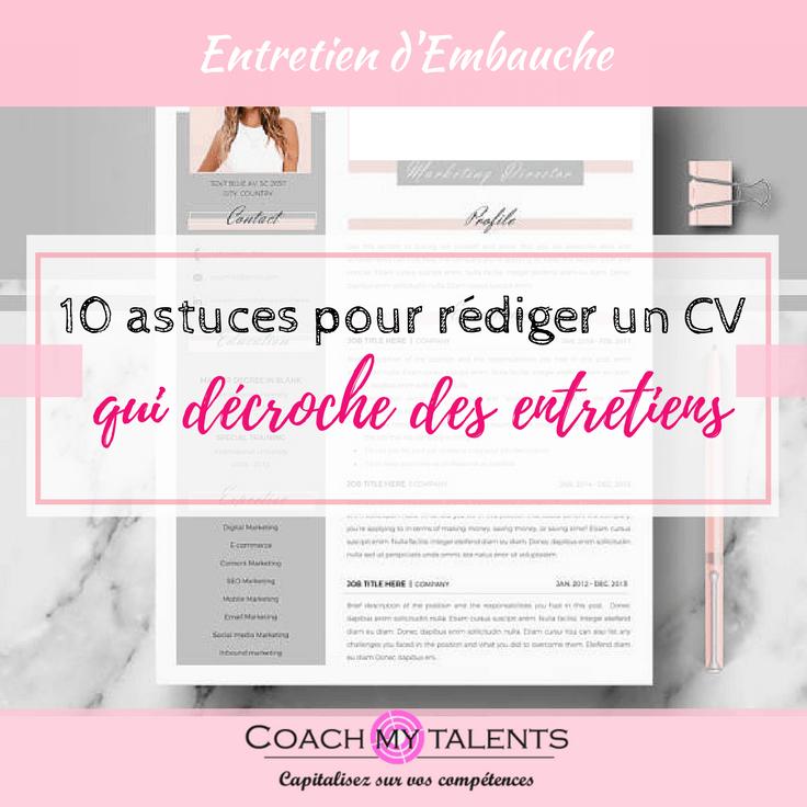 10 Lettre De Motivation Master Recherche: 10 Astuces Pour Rédiger Un CV Qui Décroche Des Entretiens