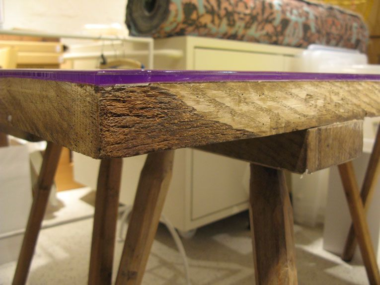Amsterdam Flat Table Collection Epoxy Resin Furniture
