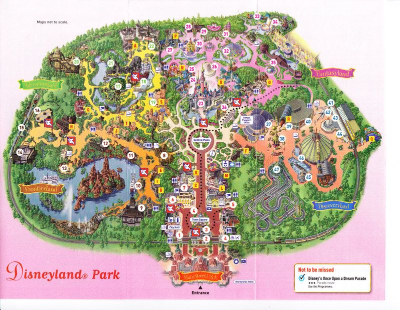 Disneyland Paris Map 2016 Pdf.Haha Maps Not To Scale You Mean Disneyland Paris Doesn T Fit In My