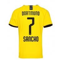 Lacne Borussia Dortmund Jadon Sancho #7 Domáci futbalový dres 2019 ...