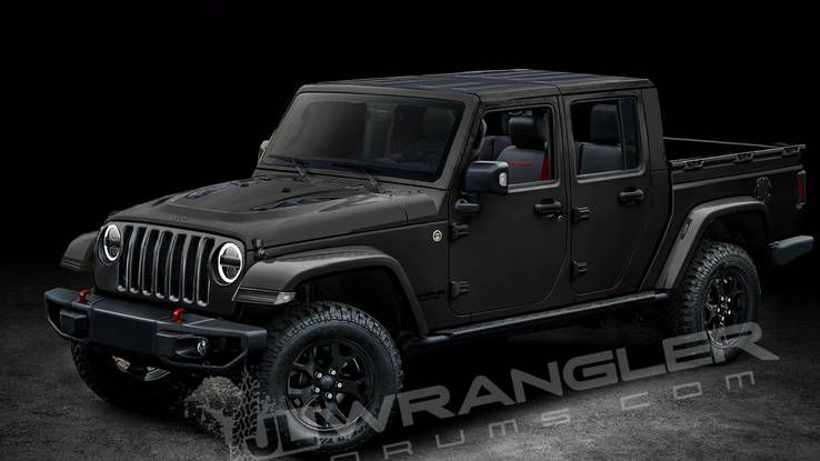 Report Upcoming Jeep Wrangler Pickup Will Be Called The Scrambler