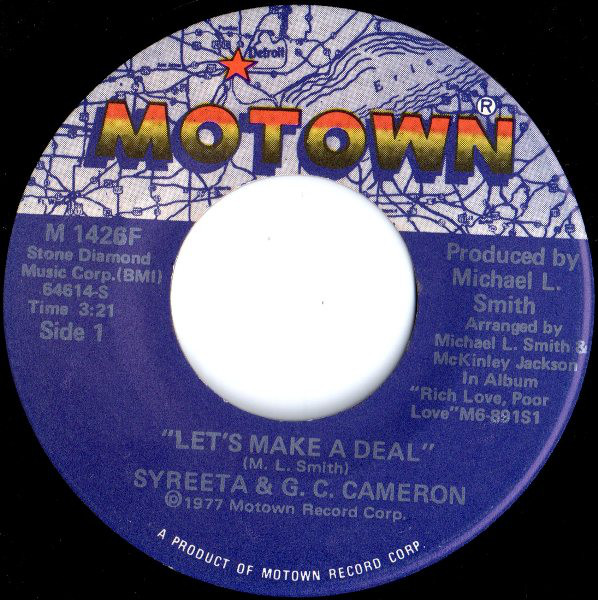 Syreeta G C Cameron Let S Make A Deal Vinyl 7 Let It Be Cameron How To Make