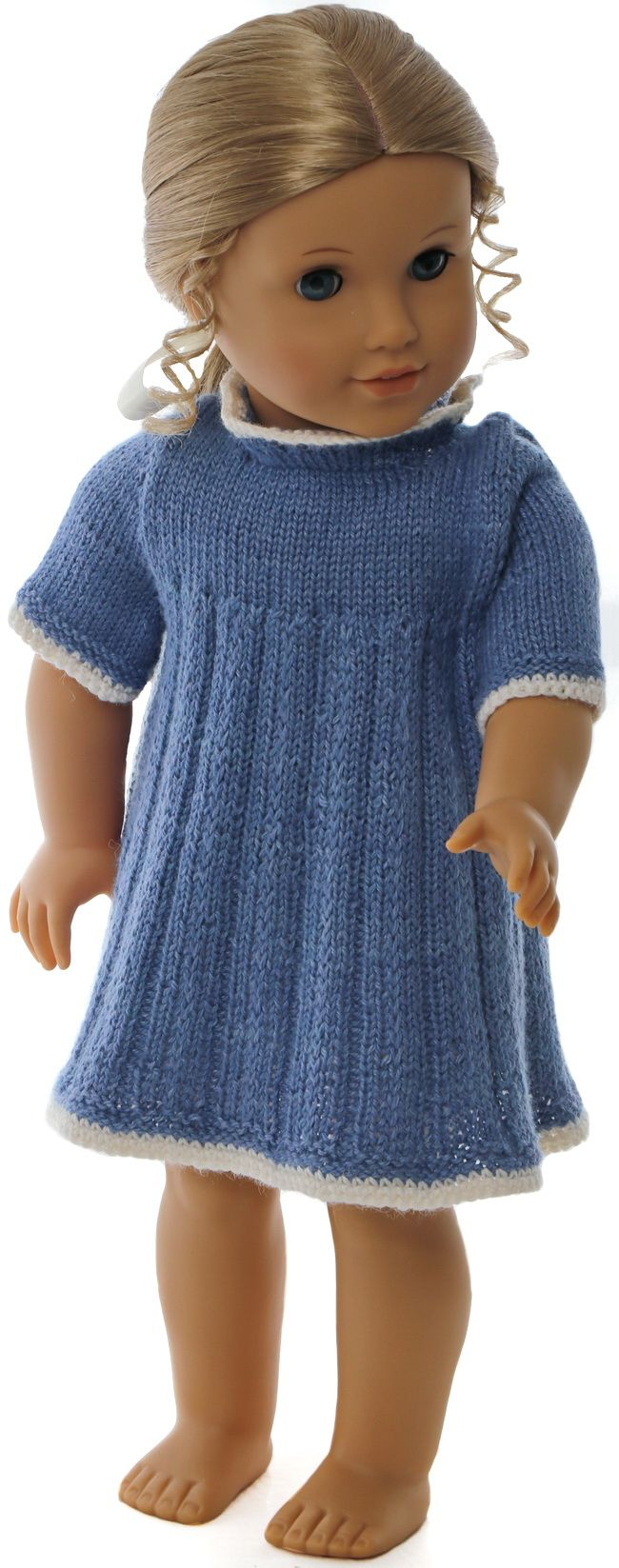 Dolls clothes knitting patterns to download   Maalfrid-Gausel ...