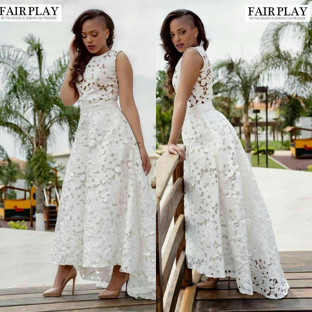 f0ca7fc5380ece African women s clothing lace dress wedding dress