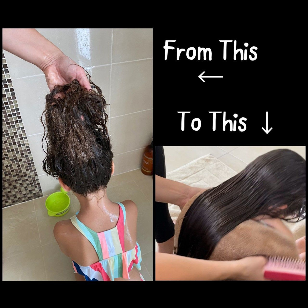 How To Detangle Matted Hair Painlessly Here Is A Step By Step Guide On How You Detangle Guide Hair Matted Painles In 2020 Matted Hair Detangler Hair Detangler