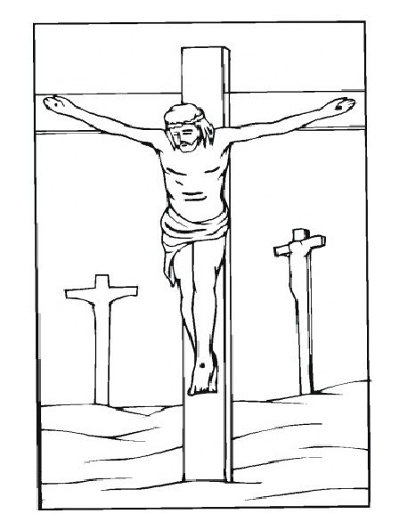 Good Friday Coloring Pages Easter and Holidays - best of coloring pages easter religious