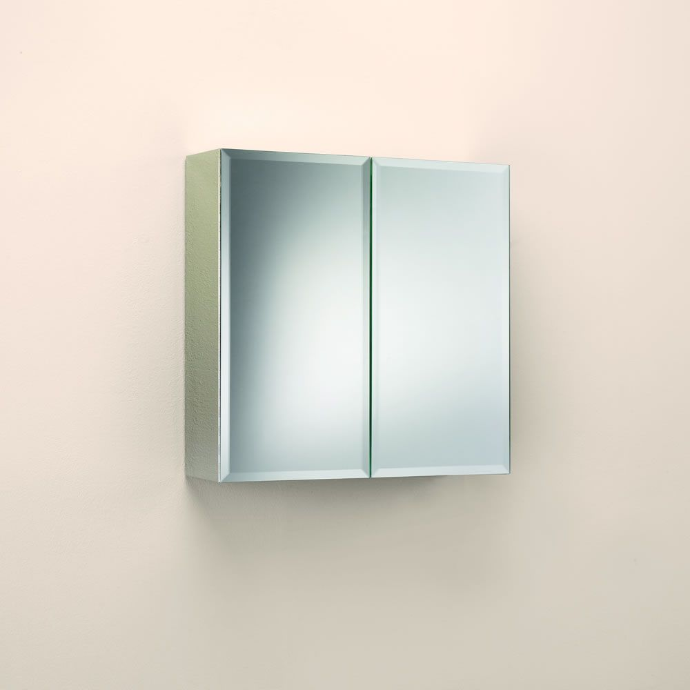 Wilko Bathroom Cabinet Stainless Steel
