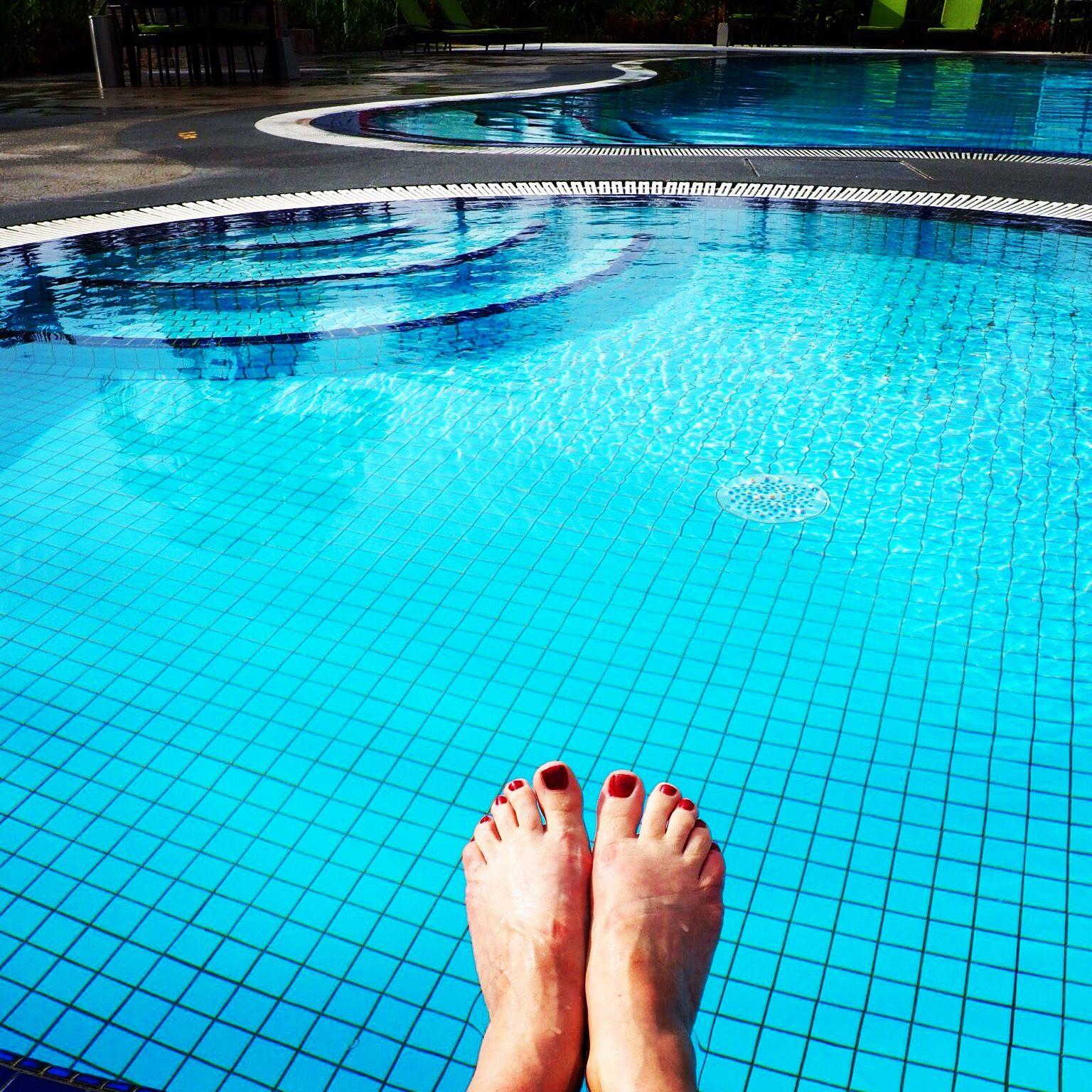 14.05: swimming in the sun, KL, Malaysia
